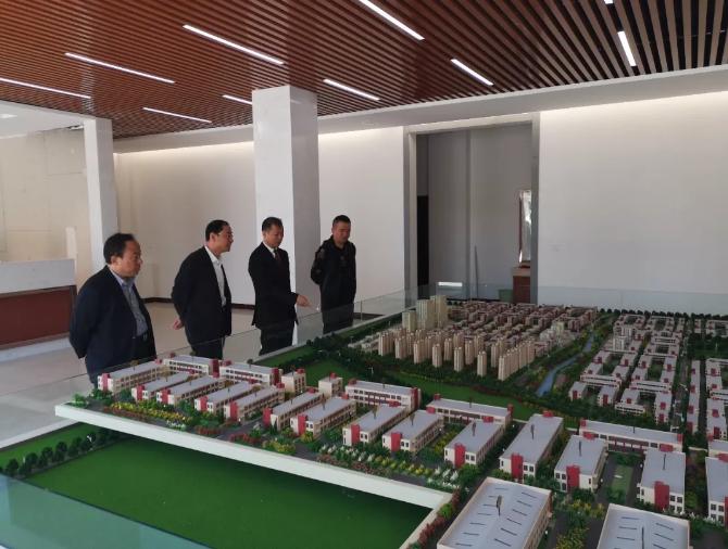 临清市副市长王庆瑞领导一行考察连城智造小镇·烟店轴承产业园