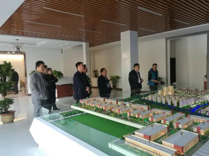 临清市副市长李树群领导一行考察连城智造小镇·烟店轴承产业园