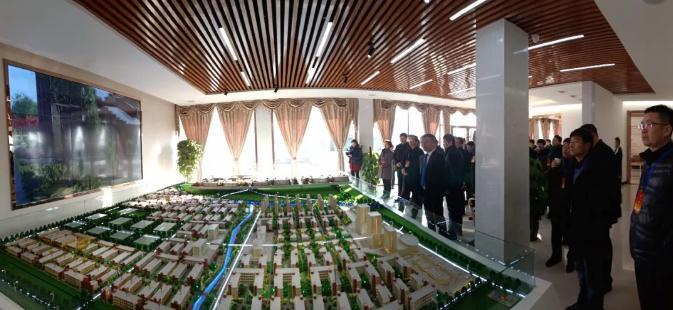 临清市人大常委会主任李汝山领导一行视察调研连城智造小镇·烟店轴承产业园