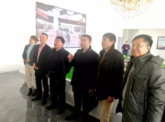 青岛欧帝欧环保科技发展有限公司董事长于小波一行来周村·连城智造小镇考察调研