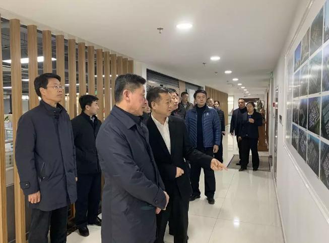 济南市副市长、公安局局长吴德生领导一行莅临幸福连城控股集团有限公司调研